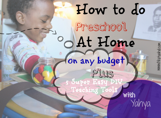 homeschool, preschool, PreK