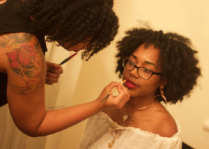 ruby woo, mac, mua, make up, makeup bar, new orleans, natural hair