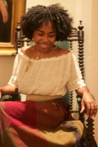 black woman, natural hair, museum, free, people of color