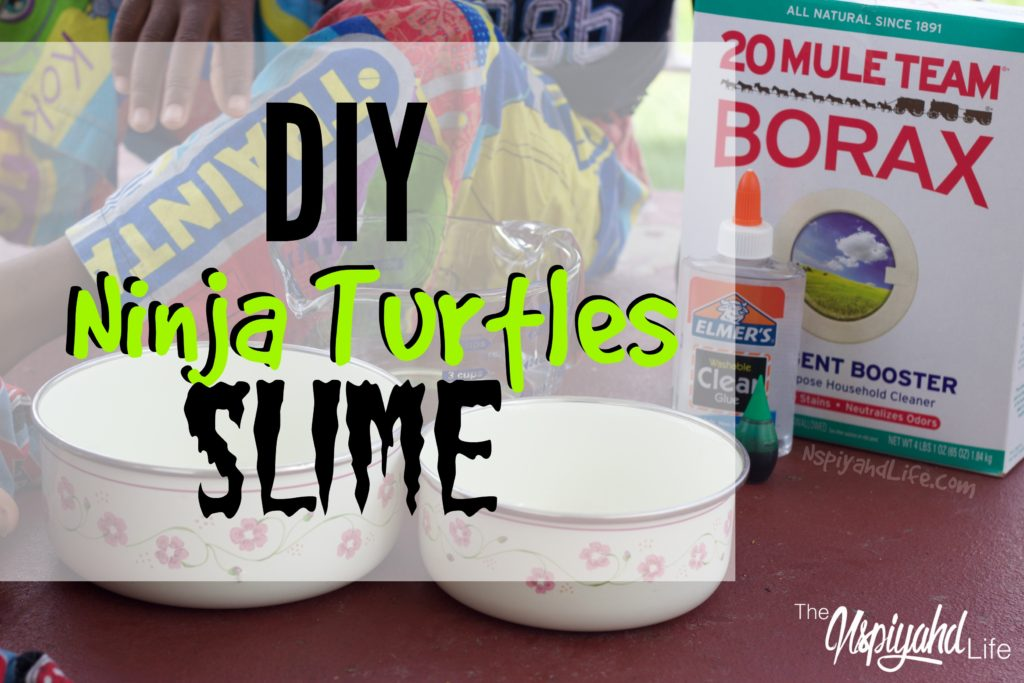 homeschool sensory slime activity