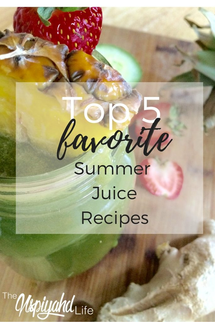 Five favorite summer juices